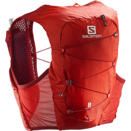 Salomon ACTIVE SKIN 8 SET RED - Běžecká vesta