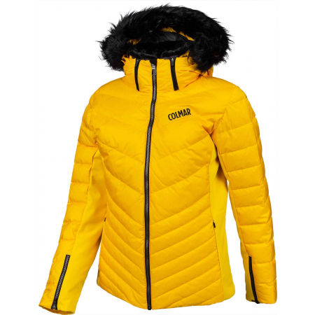 Dámská péřová lyžařská bunda - Colmar ANCOLIE SKI JACKET WITH DETACHABLE FUR - 2