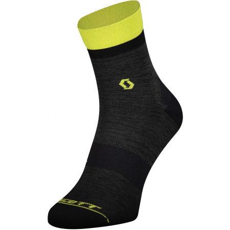 Scott TRAIL QUARTER - Kompresní cyklo ponožky