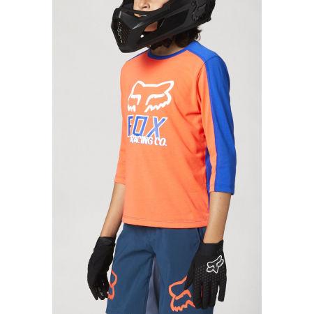 Dětský dres na kolo - Fox RANGER DR 3/4 YTH - 2