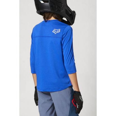 Dětský dres na kolo - Fox RANGER DR 3/4 YTH - 4