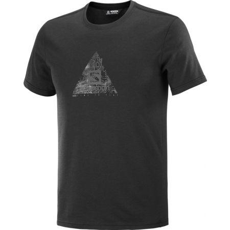 Salomon EXPLORE BLEND TEE M - Pánské tričko