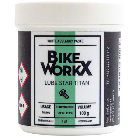 Bikeworkx LUBE STAR TITAN 100g - Montážní pasta