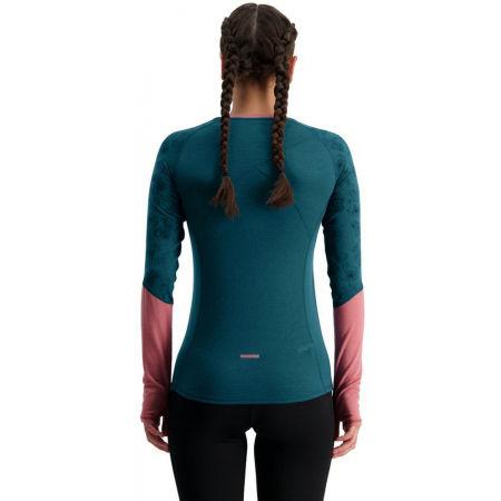Dámské funkční triko z merino vlny - MONS ROYALE BELLA TECH LS - 2