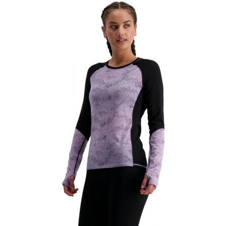 MONS ROYALE BELLA TECH LS - Dámské funkční triko z merino vlny