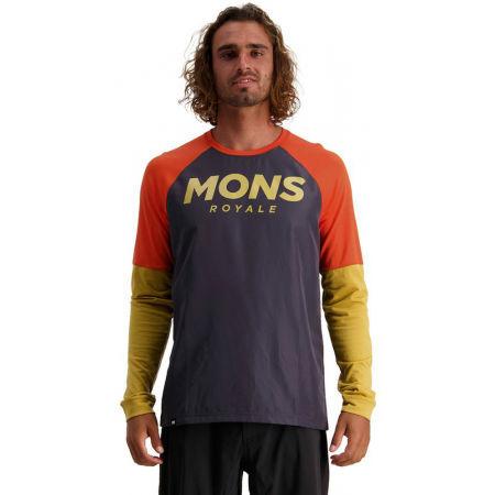 MONS ROYALE TARN FREERIDE LS WIND - Pánský cyklistický dres