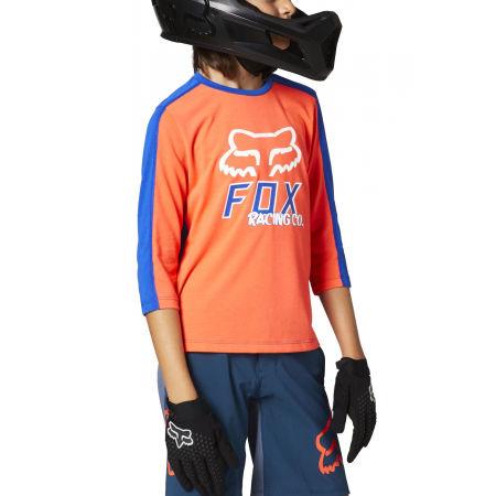 Dětský dres na kolo - Fox RANGER DR 3/4 YTH - 1
