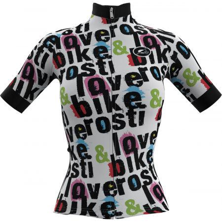 Rosti W BIKE AND LOVE - Dámský cyklistický dres