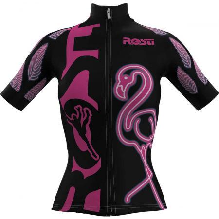 Rosti W FLAMINGO - Dámský cyklistický dres