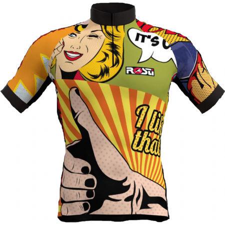 Rosti POP ART - Pánský cyklistický dres