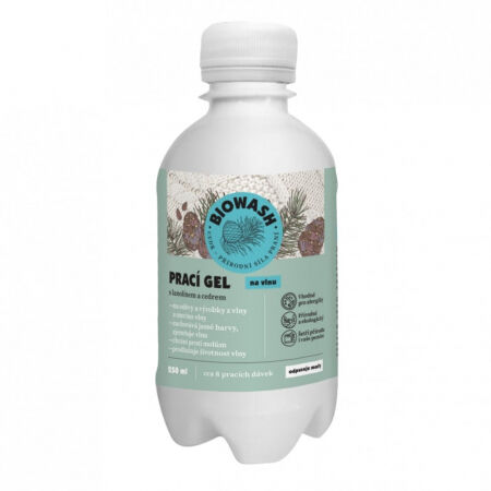 Bio Wash Prací gel s cedrem a lanolínem