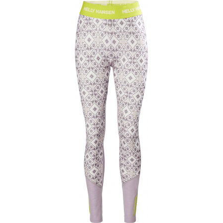 Helly Hansen W LIFA MERINO MIDWEIGHT GRAPHIC - Dámské Merino spodní kalhoty
