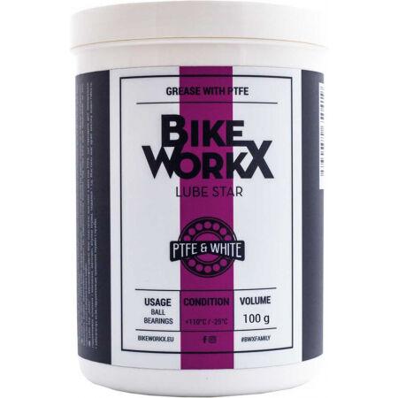 Plastická vazelín - Bikeworkx LUBE STAR WHITE 100 G