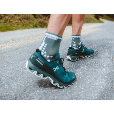 Běžecké ponožky - Compressport RACE V3.0 RUN HI - 11