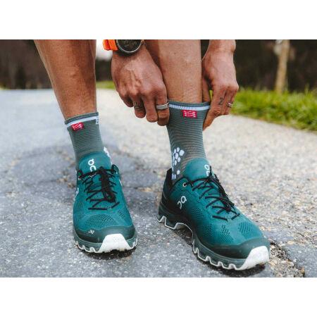 Běžecké ponožky - Compressport RACE V3.0 RUN HI - 12