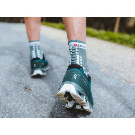 Běžecké ponožky - Compressport RACE V3.0 RUN HI - 14