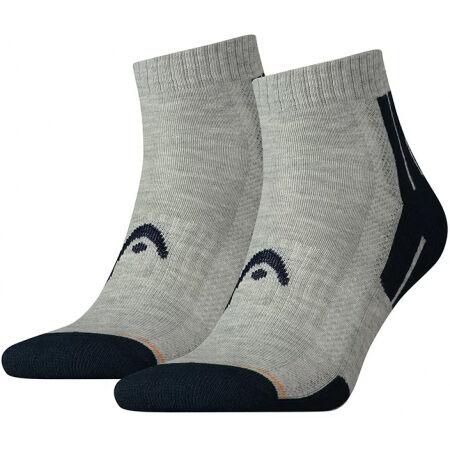 Head PERFORMANCE QUARTER 2PACK - Sportovní ponožky
