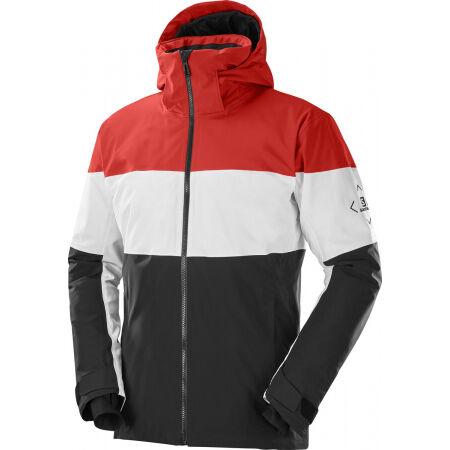 Salomon SLALOM JACKET M - Pánská lyžařská bunda
