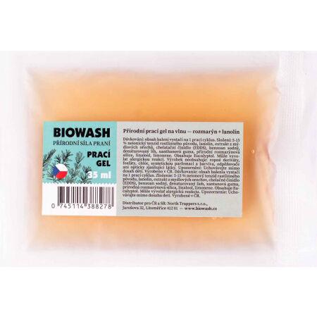 Bio Wash PRACÍ GEL ROZMARÝN-LANOLÍN - Vzorek pracího gelu