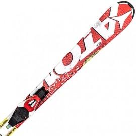 Atomic SMU REDSTER JR 130-140 + XTE 045 - Dětské sjezdové lyže