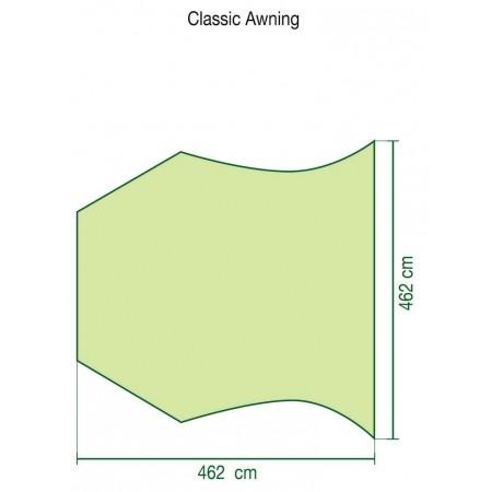 Přístřešek ke stanu - Coleman CLASSIC AWNING - 2