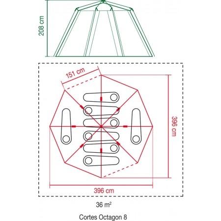 Rodinný stan - Coleman CORTES OCTAGON 8 - 7
