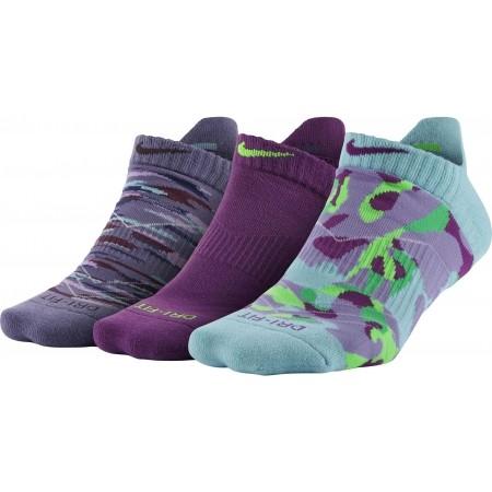 Ponožky - Nike 3PPK WOMENS DRI FIT GRAPHIC N - 1