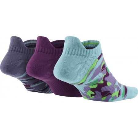 Ponožky - Nike 3PPK WOMENS DRI FIT GRAPHIC N - 2
