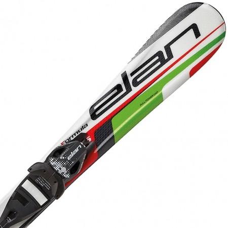 Dětské sjezdové lyže - Elan FORMULA GREEN 130 + EL 4.5 VRT - 1