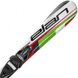 Elan FORMULA GREEN 70-90 + EL 4.5 VRT - Dětské sjezdové lyže