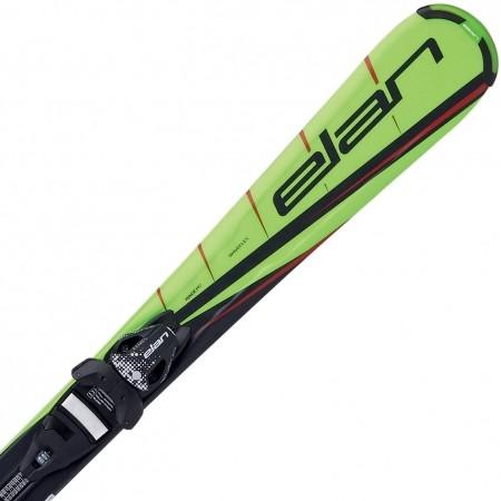 Dětské sjezdové lyže - Elan RC RACE + EL 7.5 QT - 1