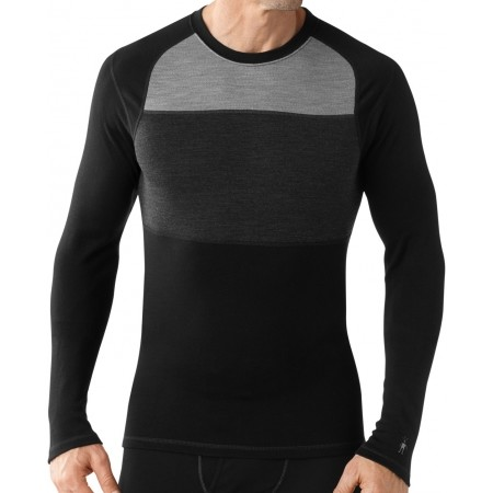 Pánské funkční tričko - Smartwool M NTS MID 250 COLOR BLOCK CREW - 1