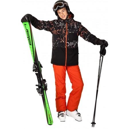 Dětské sjezdové lyže - Elan RC RACE + EL 7.5 QT - 3