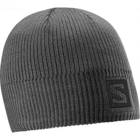 Zimní čepice - Salomon LOGO BEANIE