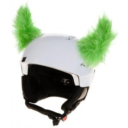 Uši na helmu - Crazy Ears ROH ZELENÝ