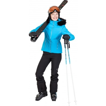 Dámská lyžařská bunda - Spyder WOMEN´S GEM FAUX FUR JACKET - 4