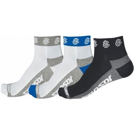 Sensor RUČIČKA 3-PACK - Cyklistické ponožky - Sensor