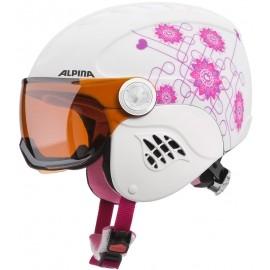 Alpina Sports CARAT VISOR - Dětská lyžařská helma