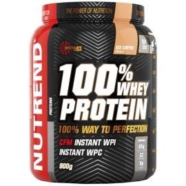 Nutrend 100 WHEYPROTEIN 900G ČOKO + TŘEŠEŇ - Proteinový nápoj