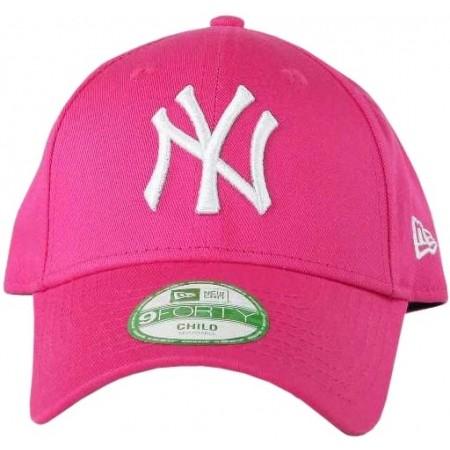Dívčí klubová kšiltovka - New Era 9FORTY KID MLB LEAGUE BASIC NEYYAN LS - 2