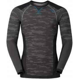 Odlo BLACKCOMB EVOLUTION WARM SHIRT L/S CREW NECK - Pánské funkční kompresní tričko