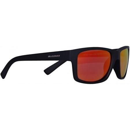 Polarizační sluneční brýle - Blizzard RUBBER BLACK POL