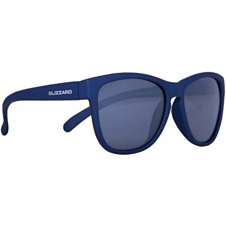 Polarizační sluneční brýle - Blizzard RUBBER DARK BLUE POL