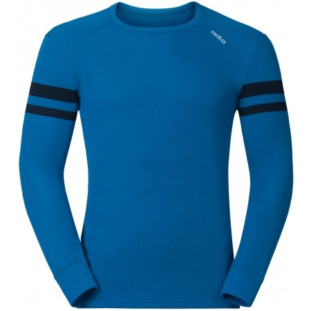 Pánské funkční tričko - Odlo JUL PRINT SHIRT L/S CREW NECK - 1