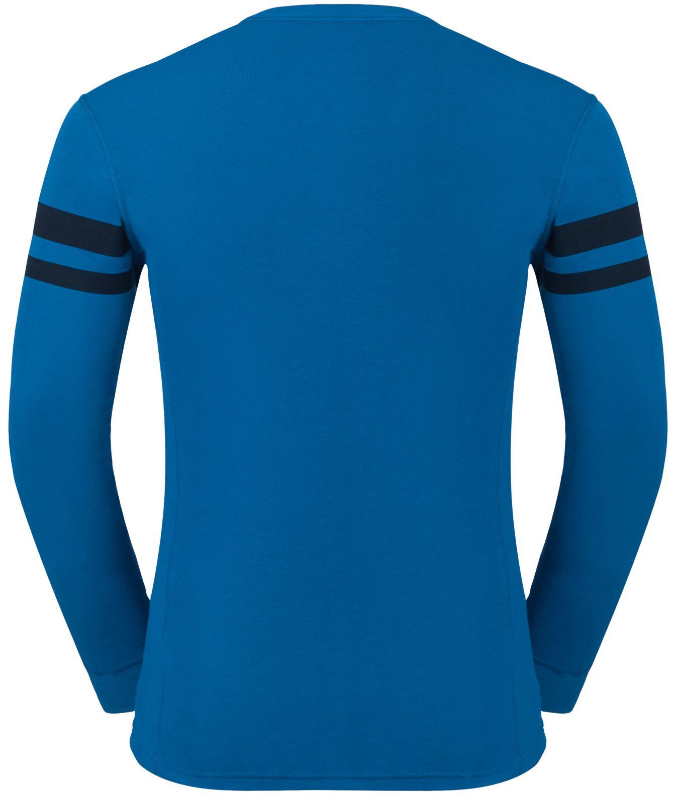45a1c8bfd1 Odlo JUL PRINT SHIRT L S CREW NECK. Pánské funkční tričko. Pánské funkční  tričko