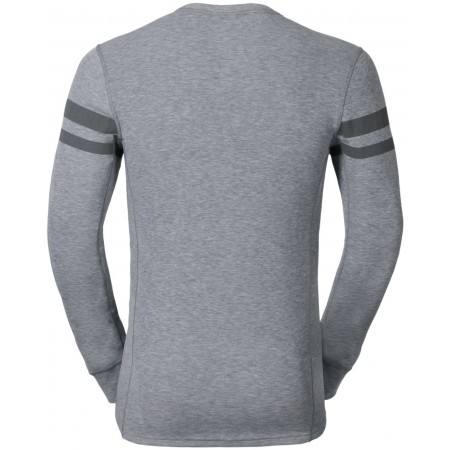 Pánské funkční tričko - Odlo JUL PRINT SHIRT L/S CREW NECK - 4