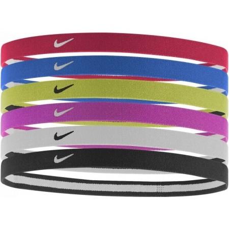 13e0a198128 Sportovní čelenky do vlasů - Nike SWOOSH SPORT HEADBANDS 6PK 2.0