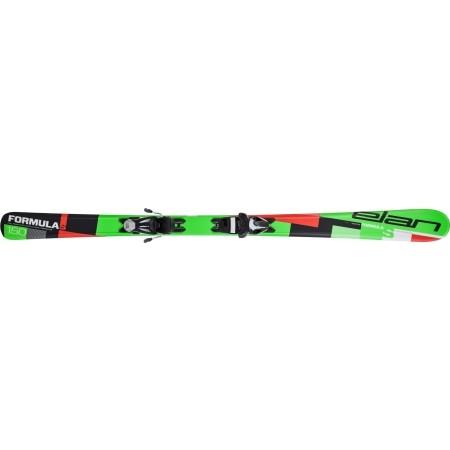 Dětské sjezdové lyže - Elan FORMULA S QS + EL 7.5 - 2