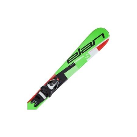 Dětské sjezdové lyže - Elan FORMULA S QS + EL 4.5 - 3