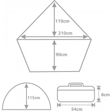 SPRING - Přístřešek stanového typu - Crossroad SPRING - 2